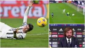 El fallo de Morata contra el Atalanta
