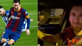 Messi y su bonito detalle con un aficionado