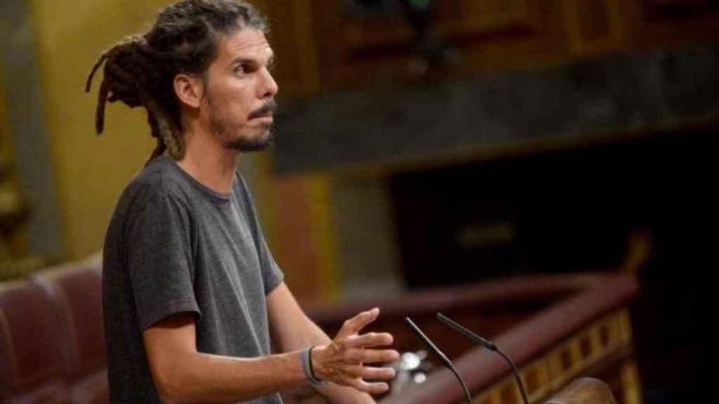 El diputado de Unidas Podemos Alberto Rodríguez. Efe
