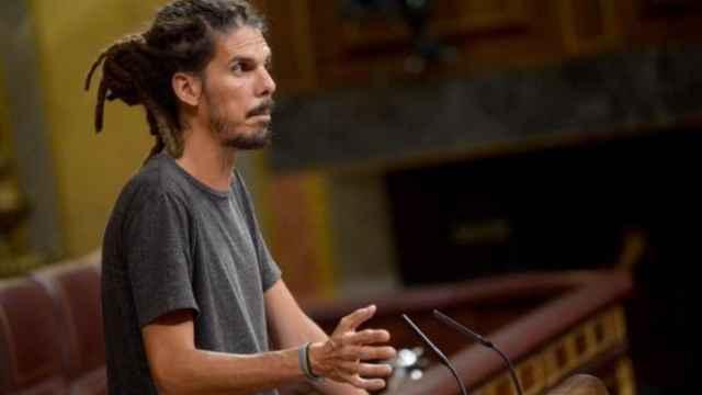 El diputado de Unidas Podemos Alberto Rodríguez.