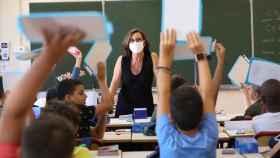 Imagen de una clase de educación primaria./