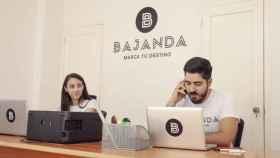 Karla Suárez y Rancel Ruana Capote, fundadores de Bajanda