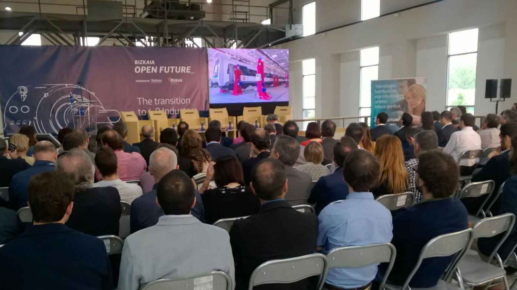 Uno de los actos que celebra Open Future durante el año.