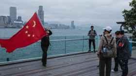 Imagen de una bandera China.