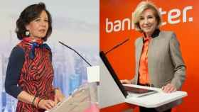 Ana Botín, presidenta del Banco Santander, y María Dolores Dancausa, CEO de Bankinter.