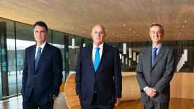 Jaime Guardiola, Josep Oliu y César González-Bueno