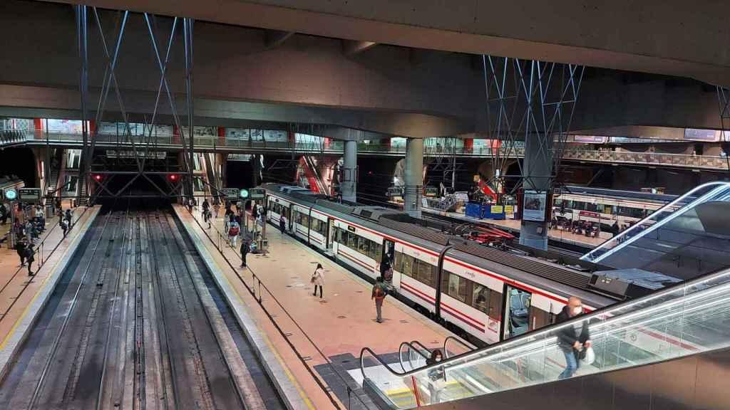 Estación de Atocha (Madrid). Sandra Tobar