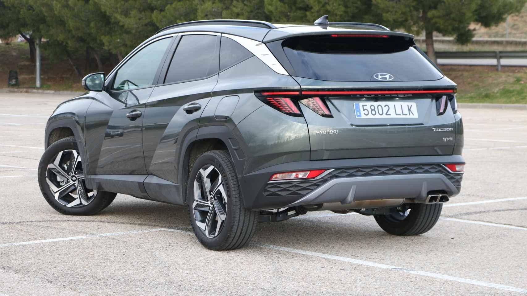 Así es el nuevo Hyundai Tucson de 2021.