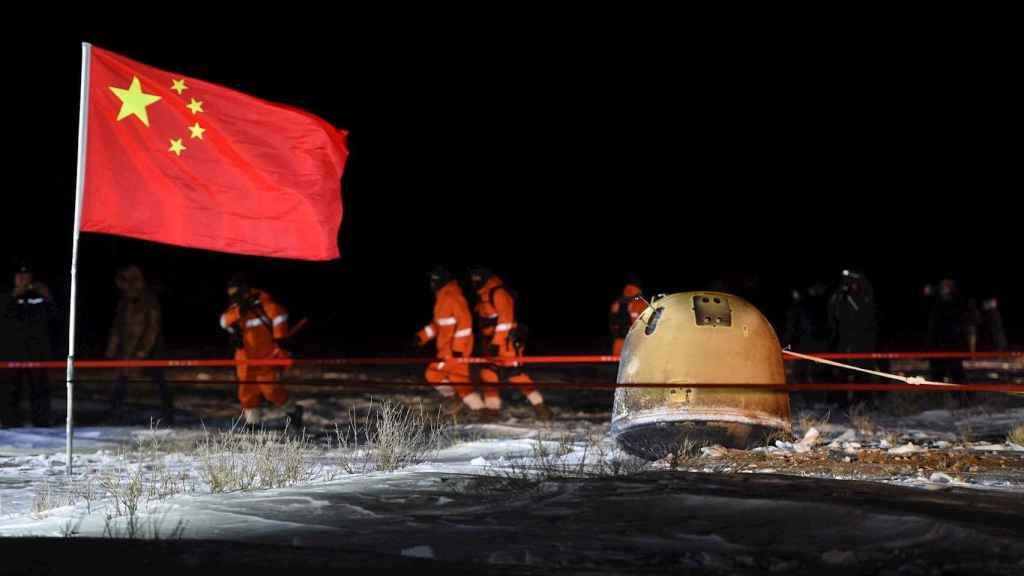 Aterrizaje de la sonda Chang'e 5