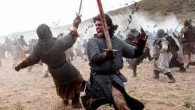 Jaime Lorente como el Cid Campeador.