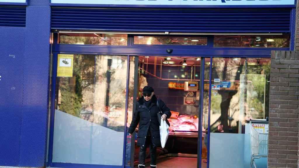 Una pescadería en Madrid.