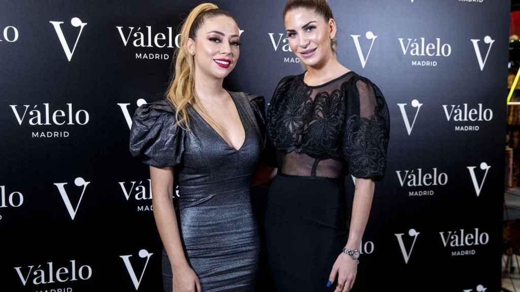 Mar Torres y Valeria López en la tienda Válelo Madrid.