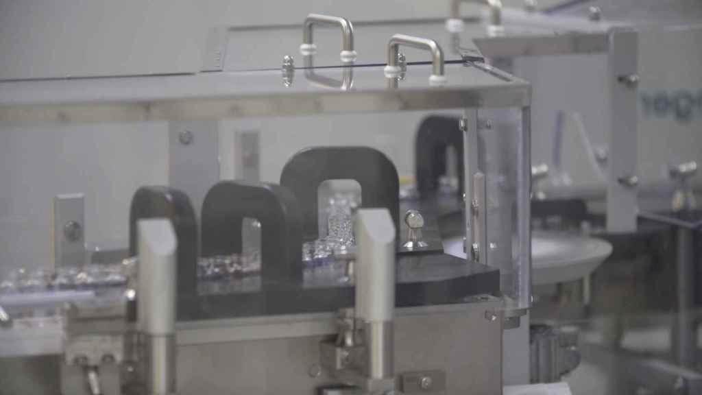 Proceso de fabricación de vacunas.