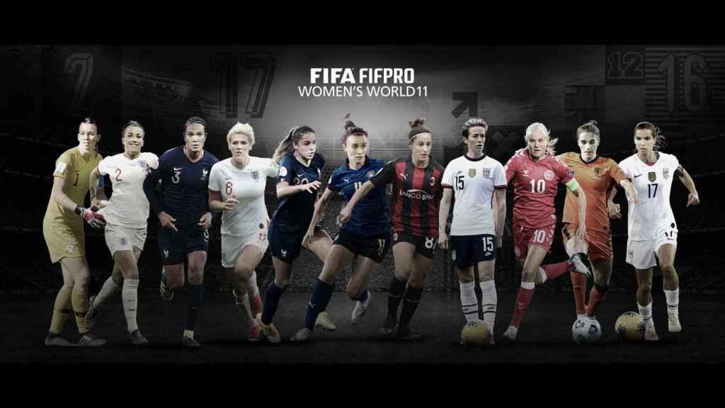 Mejor once femenino The Best