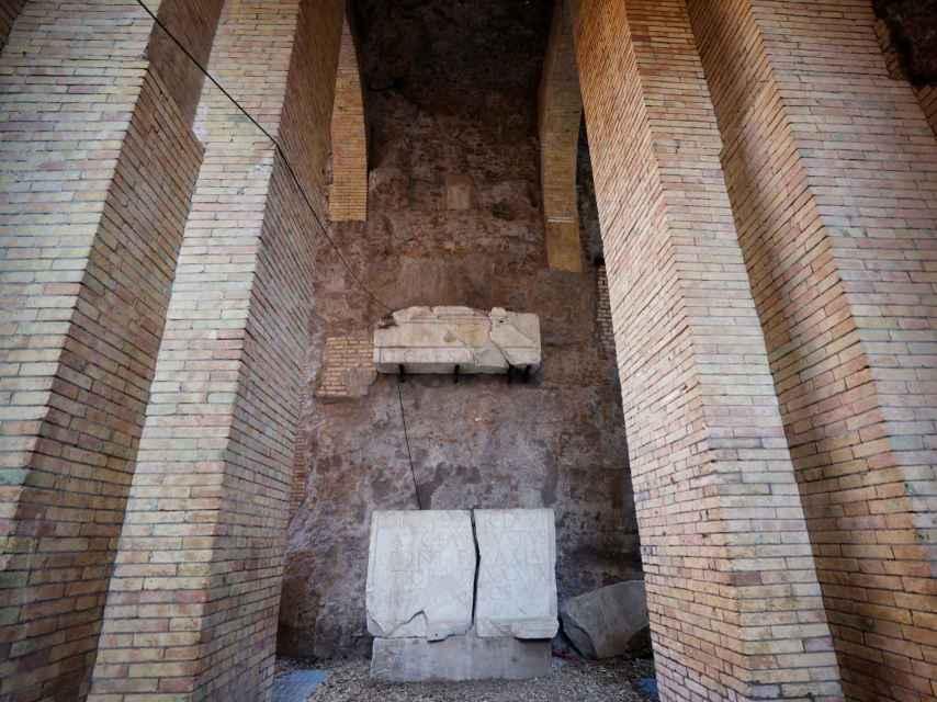 Interior del mausoleo de Augusto.
