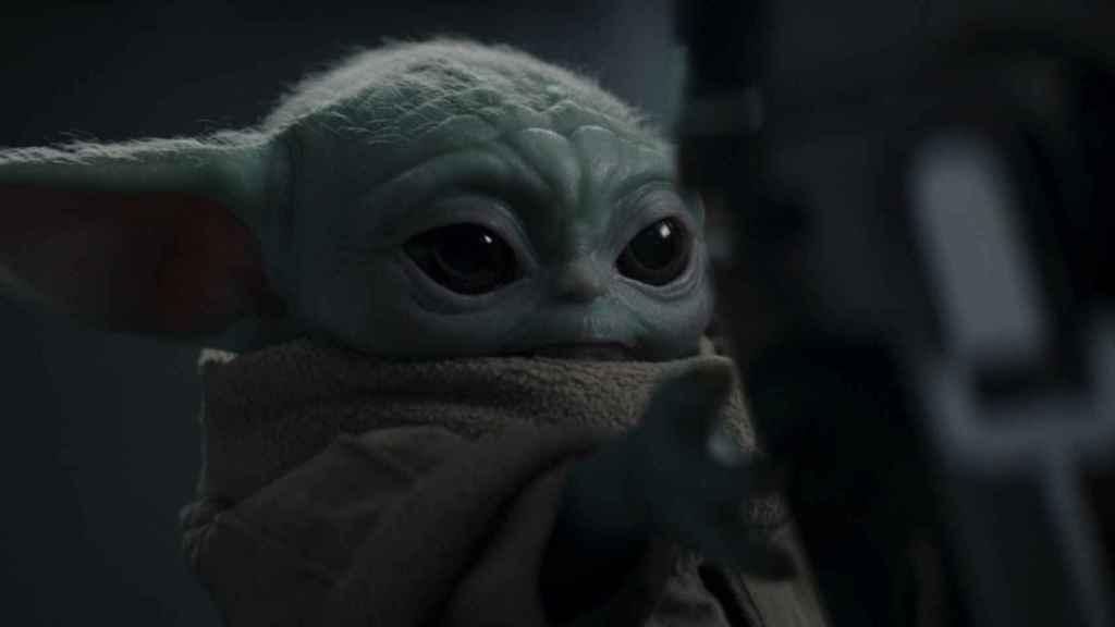 Grogu es la estrella de 'The Mandalorian'.