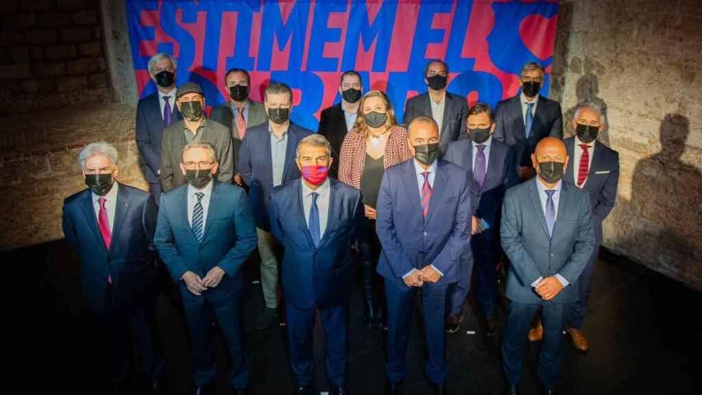 La Junta Directiva de Laporta si gana las elecciones