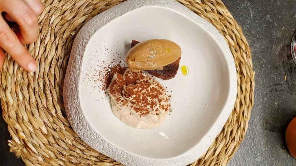 Chocolate, cascarillas y aceite de oliva