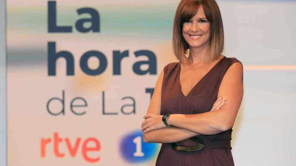 Mónica López presenta 'La hora de la 1' desde el pasado mes de septiembre.