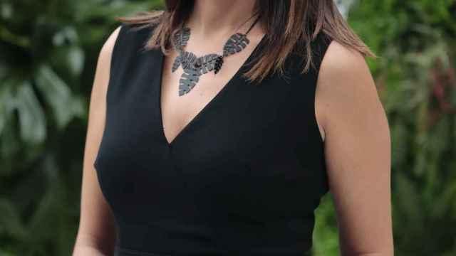 La presentadora Mónica López, actual codirectora de 'La Mañana de la 1'.