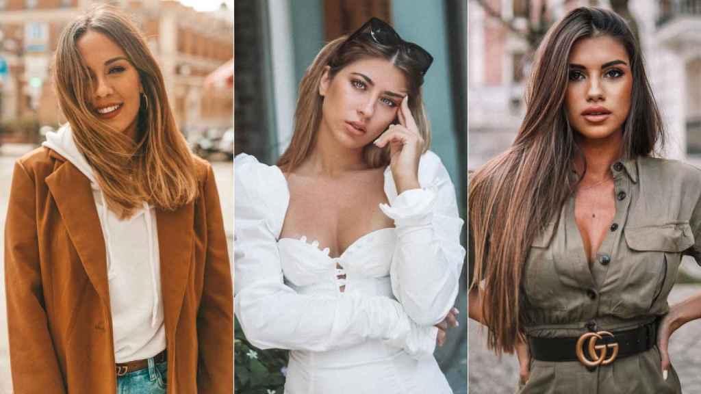 Susana Megan, Sophie Tatar y Jennifer Baldini, en imágenes compartidas en sus perfiles de Instagram.