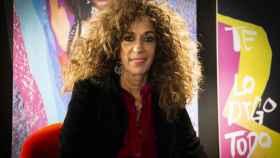 La artista Rosario Flores.