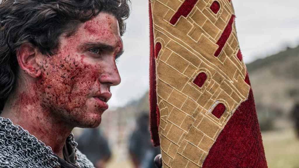 Jaime Lorente es El Cid Campeador.