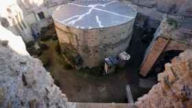 El mausoleo de Augusto, en Roma.