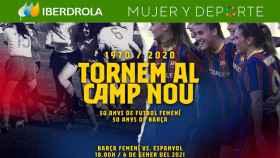 El Barça Femenino regresa al Camp Nou 50 años después