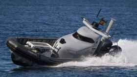 Una embarcación de pilotaje remoto que forma parte del proyecto MAR-1.