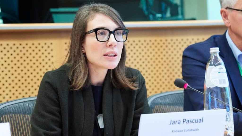 Jara Pascual, fundadora y directora de Collabwith, cofundadora y directora general de The Wominvest Observatory, y miembro del consejo de administración del Knowledge4Innovation Forum del Parlamento Europeo.