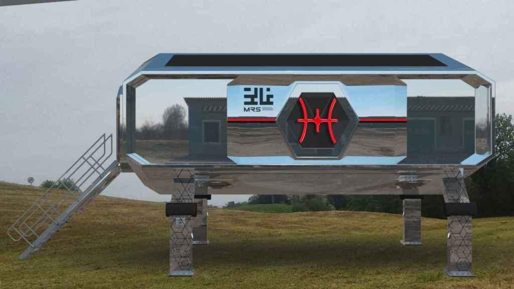 Una visión de la casa del futuro que construye Astroland.
