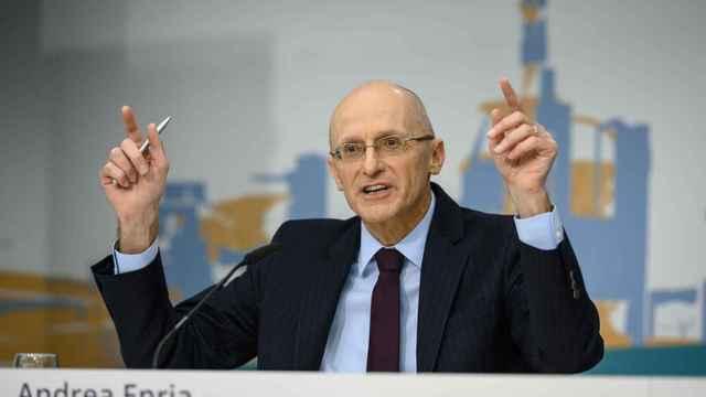 Andrea Enria, presidente del Consejo de Supervisión del Banco Central Europeo (BCE).