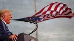 Donald Trump durante un discurso, en una imagen de archivo.