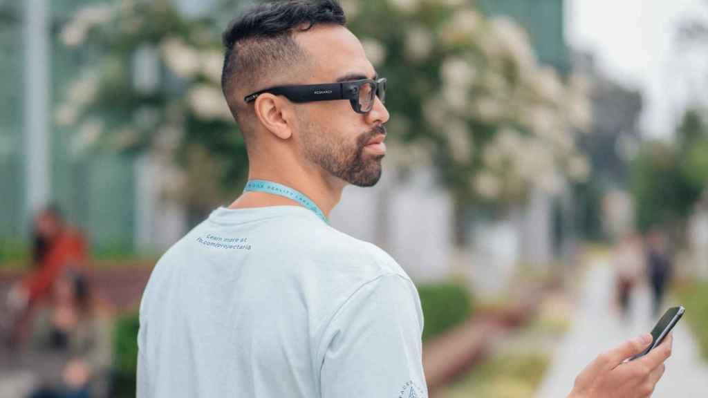 Las gafas de realidad aumentada de Facebook