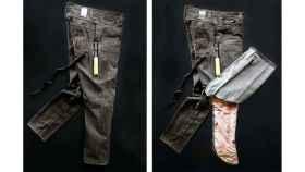 Pantalones con airbags.
