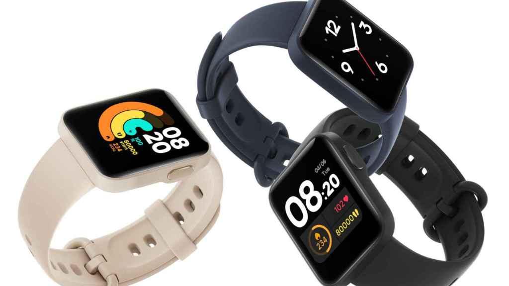 El Xiaomi Mi Watch Lite tan solo cuesta 60 euros.
