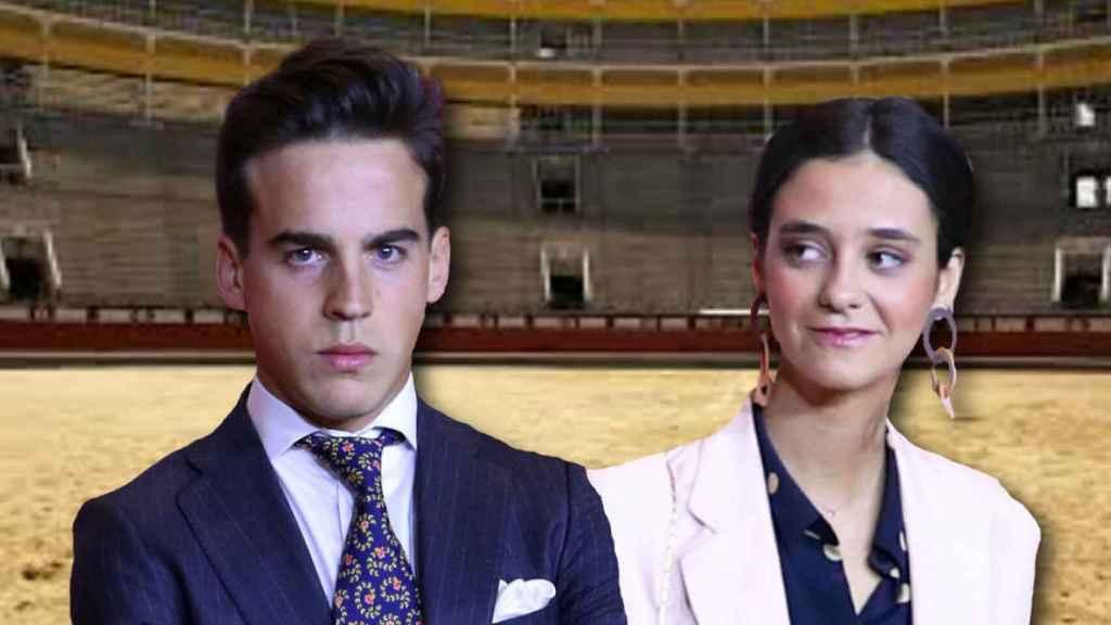 Victoria Federica y Gonzalo Caballero en montaje JALEOS.