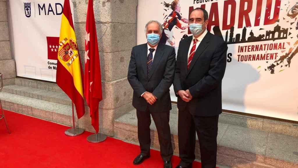 Alfonso Feijoo y Carlos Fernández de Luz
