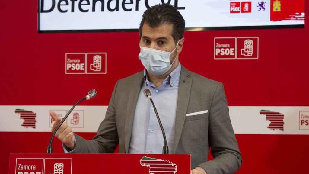 El socialista Luis Tudanca