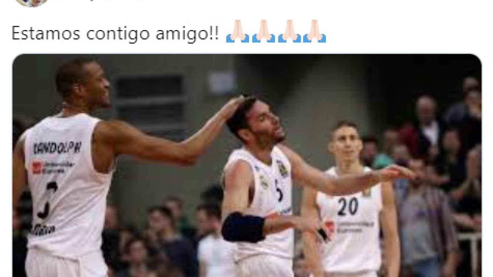 Los mensajes de los jugadores del Real Madrid tras la grave lesión de Randolph