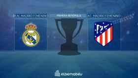 Streaming en directo | Real Madrid Femenino - Atlético de Madrid Femenino (Primera Iberdrola)