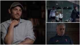 Casillas y Mourinho, en 'Colgar las alas'