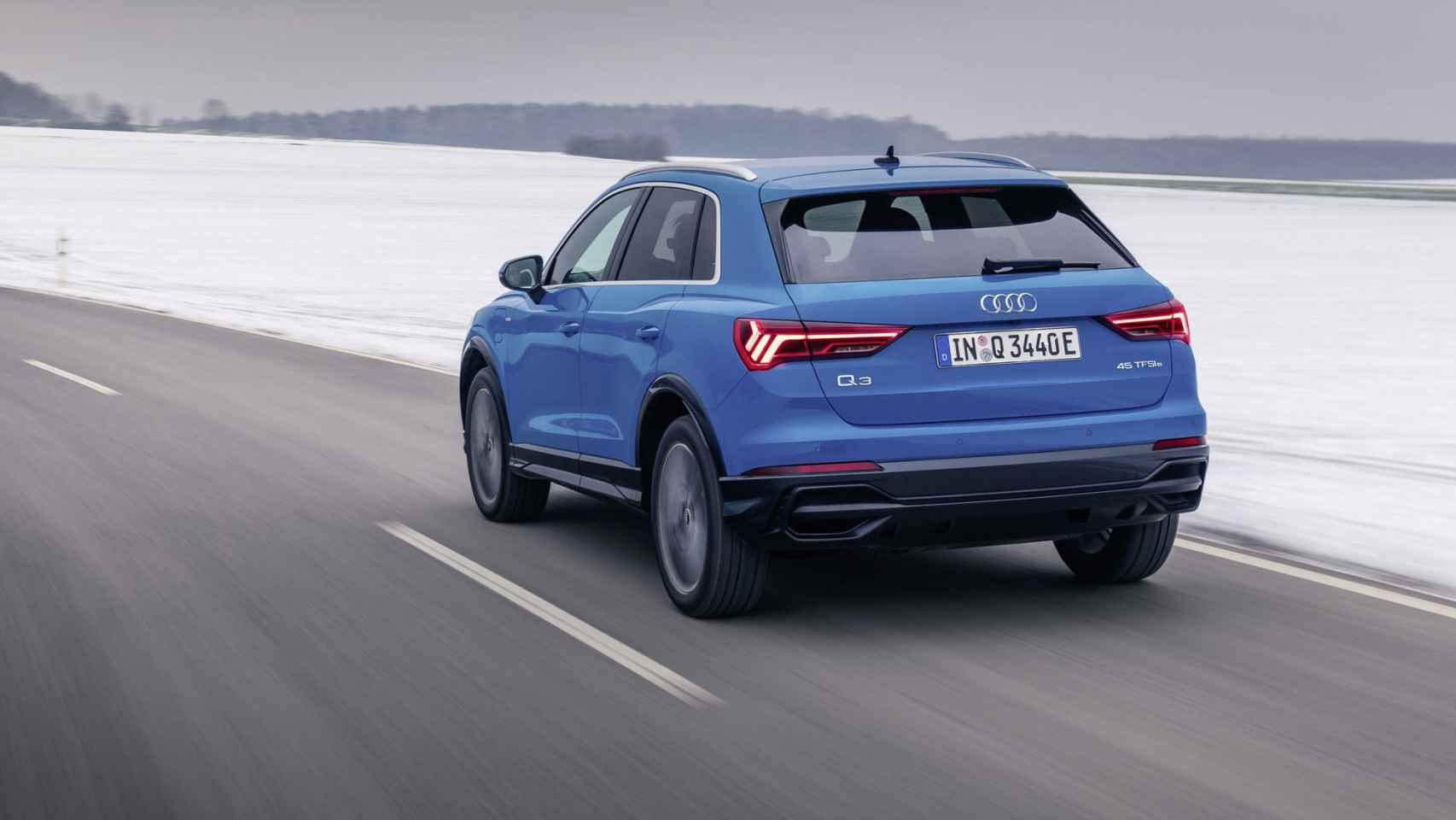 Audi lanza el Q3 híbrido enchufable