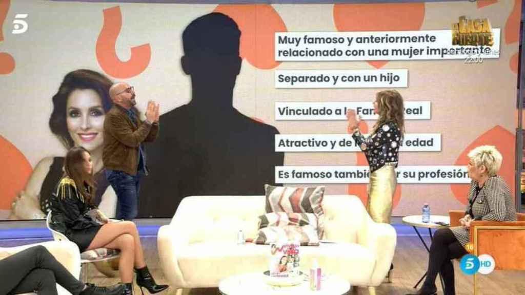 Diego Arrabal dando pistas sobre la identidad del supuesto amigo de Paloma.