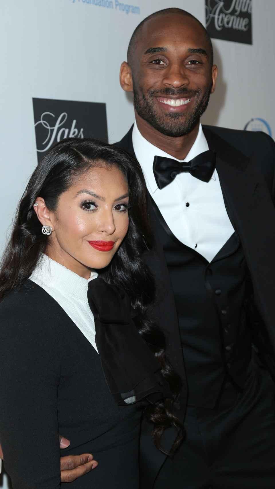 Kobe y Vanessa Bryant.