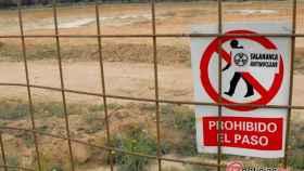 Berkeley-mina-uranio-cielo-abierto-retortillo-salamanca-antinuclear-prohibido-el-paso-obras-castilla-leon