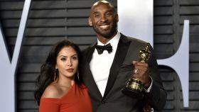 Vanessa junto a su marido Kobe Bryant en imagen de archivo.