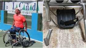 La silla de ruedas de Kike Siscar