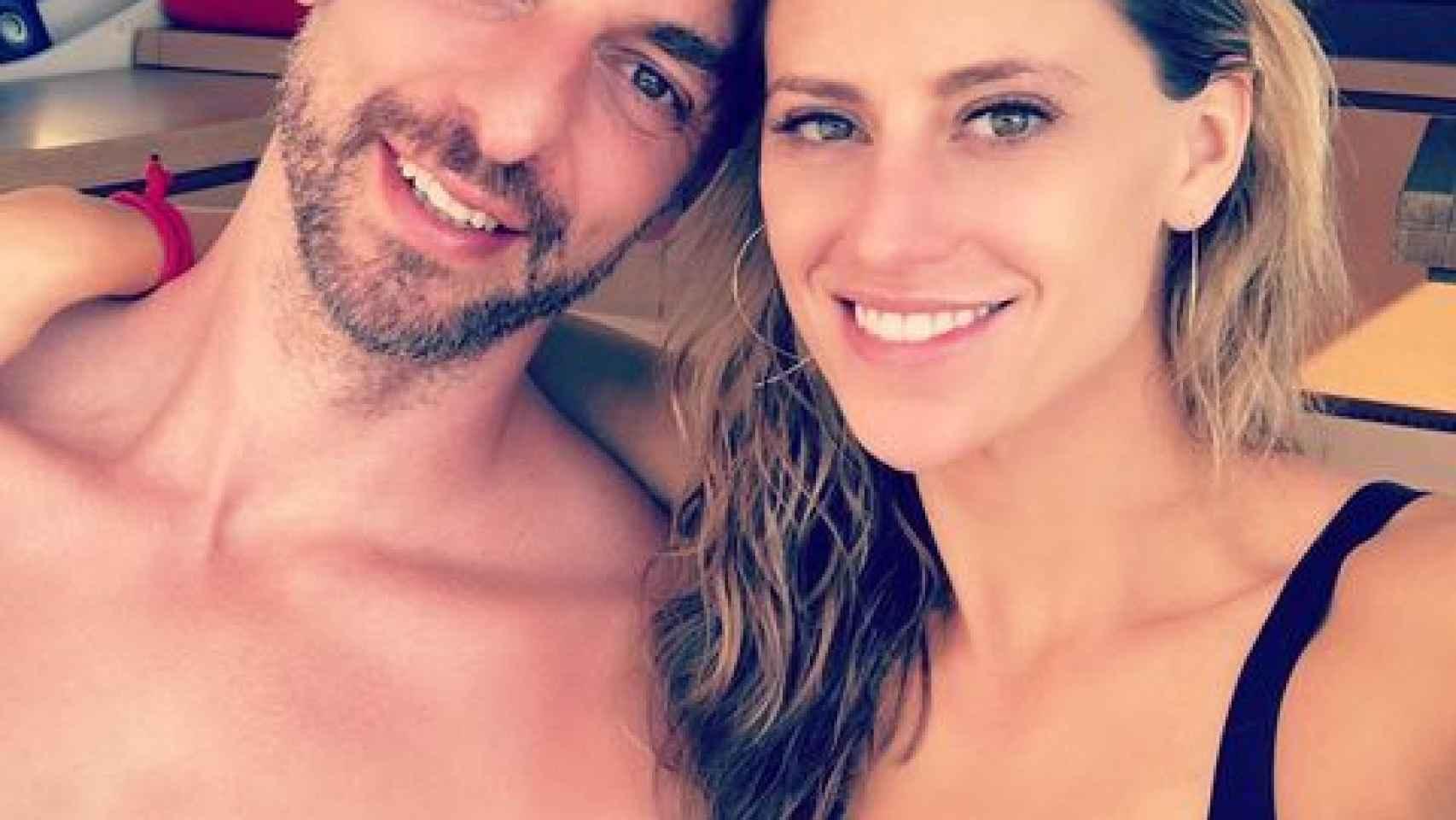 Pau Gasol y Catherine McDonnell. Foto: Instagram (@catmcdonnell7)